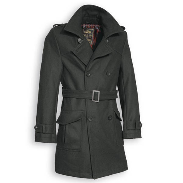 Crown Coat - schwarz