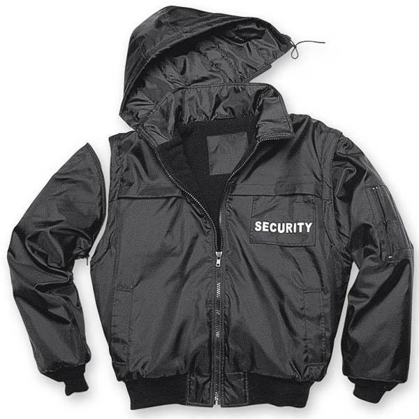 Security-Blouson - schwarz