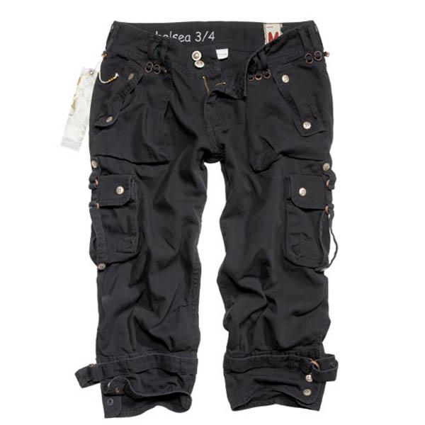 Ladies Chelsea Shorts, schwarz gewaschen