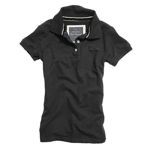 Ladies Polo - schwarz
