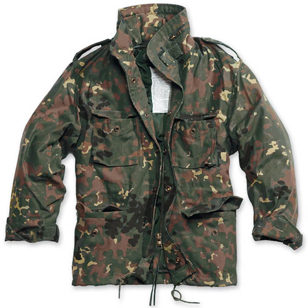 Kinder M65, flecktarn