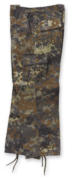 Kinder-US-Hose - flecktarn