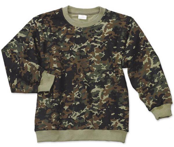 Kinder-Pullover - flecktarn