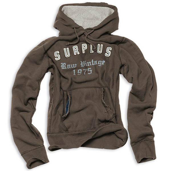 SURPLUS Hoodie - braun