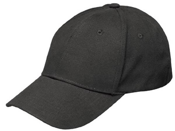 Baseball Cap Flexband,schwarz