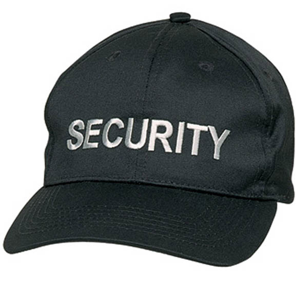 Security-Cap - schwarz
