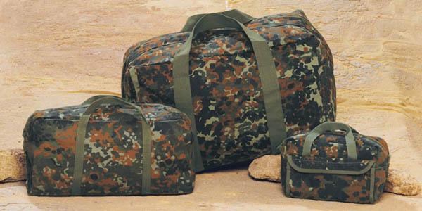BW-Einsatztasche - flecktarn