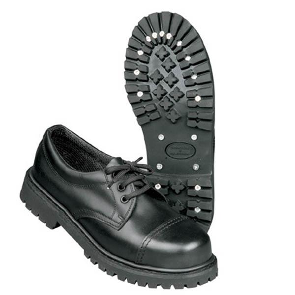 Schuhe, 3-Loch - schwarz