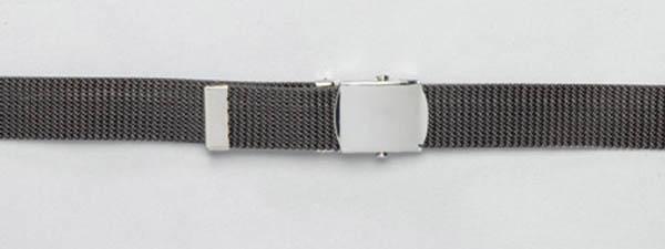 US-Gürtel, 3 cm - grau
