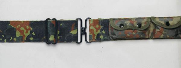 3-Taschen-Lochkoppel - flecktarn