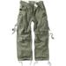 Vintage Fatigues Trousers - oliv gewaschen