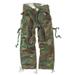 Vintage Fatigues Trousers - woodland gewaschen