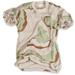 T-Shirt - 3-Farben desert
