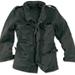 M65 Jacke washed - schwarz gewaschen