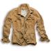 Heritage Jacke,beige-braun gewaschen