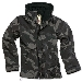 Ladies Windbreaker Zipper, blackcamo