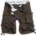 Division Shorts,braun gewaschen