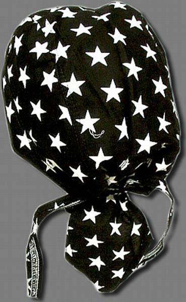 BLACK (WHITE STARS)