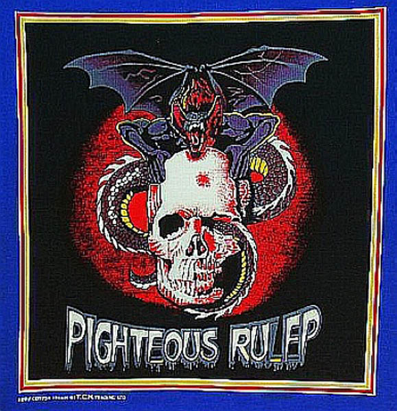 PIGHTEOUS RULEP