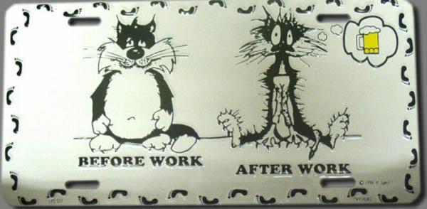 BEFORE WORK