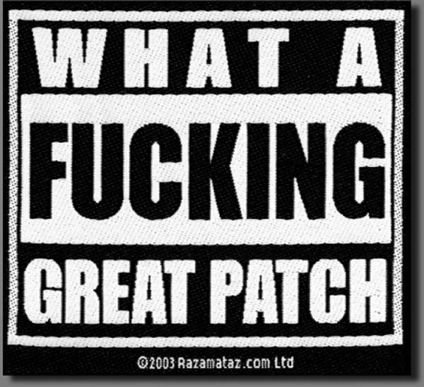 GREAT PATCH