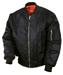 Ma1 jacket - black