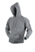 Hooded sweater - marl grey
