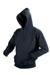 Hooded sweater -black