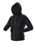 Redstone hooded zipsweater - black