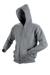 Redstone hooded zipsweater - marl Grey