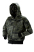 Hooded zip sweat print - Streetcamo