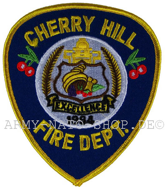 US Abzeichen Firefighter - Cherry Hill